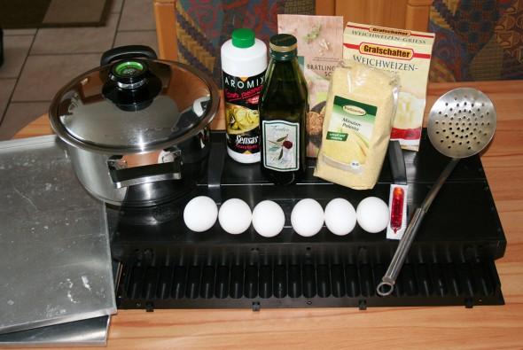 Boilies machen - Die Zutaten