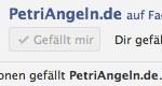 PetriAngeln hat die ersten 50 Facebook-Fans
