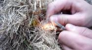 Funke mit dem Feuerstein