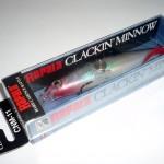 Gewinnspiel: Rapala Clackin Minnow (Silber, 11 cm) geht an...