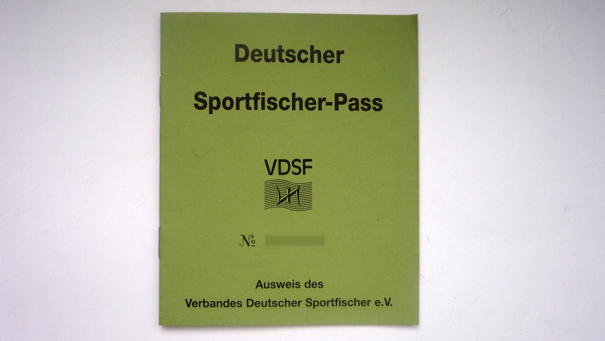 deutscher Sportfischerpass